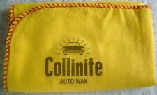 COLLINITE AUTO WAX:NEW LARGE HI-QUALITY YELLOW CLEANING DUSTER CLOTH DECAL LOGO