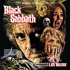 BLACK SABBATH - COMPLETE SCORE - LIMITED EDITION - OOP - LES BAXTER