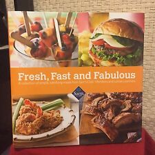 Fresh, Fast and  Fabulous Cookbook from Sam's Club HC DJ Free Shipping