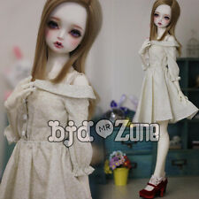 New 1/3 SD DD BJD Smart Doll Clothes Beautiful Light yellow Condole Belt Dress
