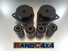 1248 Land Rover Defender suspensión trasera Trailing Brazo Top & Bottom Bush Kit to09