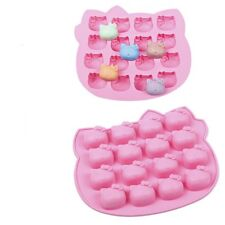 Bakeware Kitty Cat Silicone Baking Cake Mould family party 16 Holes
