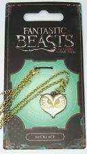 New Official Fantastic Beasts and Where to Find Them Owl Face Necklace