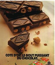 Publicité Advertising 1978 Le Chocolat Cote d'Or