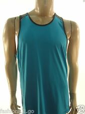 CALVIN KLEIN NEW $40.00 BLUE PERFORMANCE ATHLETIC TANK TOP SHIRT sz- L LARGE