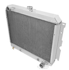 1962-1967 Chevy ChevyII Nova 4 Row Aluminum Champion Radiator-MC2374