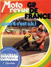 MOTO REVUE 2122 MZ 250 ETS BENELLI 125 2C YAMAHA 500 GP France Thierry Tchernine