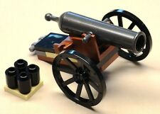 NEW Lego CANNON w/ Bullets IT REALLY SHOOT'S Pirate Armada Minifig Weapon