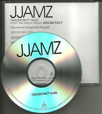 Phantom Planet MAROON 5 Rilo Kiley members JJAMZ Suicide pact PROMO DJ CD Single
