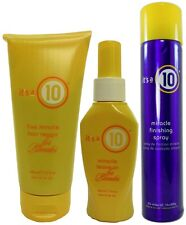 It's a 10 - Blonde Five Minute Hair Repair, Leave-in, and Finishing Spray Trio