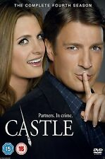 CASTLE COMPLETE SERIES 4 DVD Box Set Season Brand New Sealed 4th Fourth UK R2