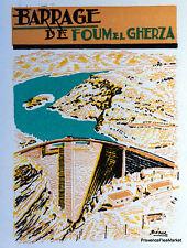 ALGÉRIE BARRAGE DE FOUM EL GHERZA  LETTRE  PREMIER JOUR 1957   213ACA32