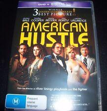 American Hustle (Australian Region 4) DVD - Like New