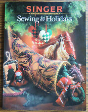 "Singer ""Sewing for the Holidays"" Christmas Easter Halloween Thanksgiving Crafts"