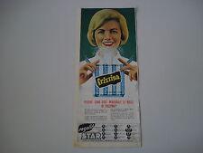 advertising Pubblicità 1963 FRIZZINA STAR