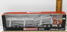 Kenworth W900 1:43 Auto Transporter Die-cast 2002 New-Ray Toy Semi Long Hauler