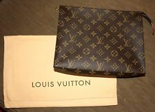 AUTH LOUIS VUITTON Toiletry Pouch 26 Monogram Canvas M47542 Currently SOLDOUT
