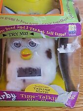 FURBY original  Time Talking  Clip Clock. Never removed from Box! RARE!