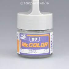 (26€/100ml) Mr.Color C97 Light Gray Hell Grau glänzend (G) - Mr.Hobby GUNZE