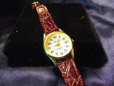 Woman's Cherokee Date Watch  with Genuine Leather Band B20-095