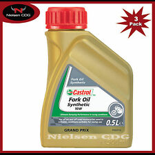 Castrol 10w Fork Oil Synthetic - 3x500ml = 1.5L