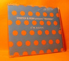 MAXI Single CD STRETCH & VERN PRESENT MADDOG I'm Alive 4TR 1996 house big beat