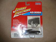 1968 68 FORD MUSTANG GT CRAGAR AD RODS JL JOHNNY LIGHTNING DIECAST RARE BLACK 42