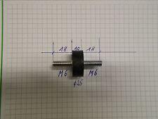 Gummipuffer Schwingungsdämpfer D=25/M6 L=18/10/18 wie Bild Härte = 57 shore
