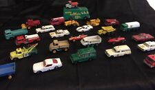 LOT of 26 Vintage Matchbox Lesney Cars & King Size Trucks England Toy Cars 60s