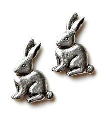 Rabbit Cufflinks - Gifts for Men - Anniversary Gift - Handmade - Gift Box