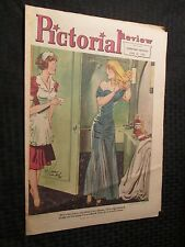 1950 SUNDAY PICTORIAL REVIEW June. 25th VG/FN E Simms Campell Milwaukee Sentinel
