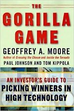 Geoffrey A. Moore~THE GORILLA GAME~SIGNED 1ST/DJ~NICE COPY