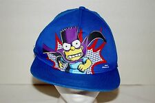 Super Hero Bart Simpson Baseball Cap Snapback Youth 12-14Y+ Adult Small/Medium