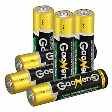 New 6pcs Gaoneng Energy AAA Alkaline Batteries 1.5v Batteries Toy Supply Power