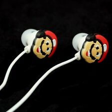 Earphones Mario Style 3.5mm in ear Headphone