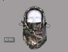 Army Miliary Winter Ski Snow Hunting Camo Fleece Balaclava Face Mask Hat Cap R11