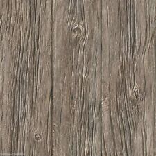 Carta da Parati Muriva-Lusso a grana realistico OLD WOOD PANEL-Marrone-J024-17
