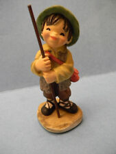 Anri Toriart Hand Painted Resin SHEPHERD WITH STAFF Juan Ferrandiz Nativity NIB