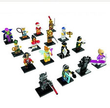 LEGO Minifigures Series 8 (8833) 16 Figures. All accessories & Base Plate Incl.
