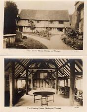 2 The Chantry House Henley on Thames unused RP old pcs Geo. Bushell Good