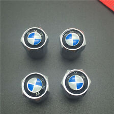 4PCS For BMW Tire Wheel Rims Stem Air Valve Caps Tyre Cover Car Truck Bike