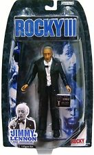 ROCKY III MOVIE JIMMY LENNON RING ANNOUNCER ACTION FIGURE BALBOA LANG JAKKS NEW