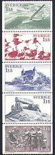 Sweden 1978 Tourism/Glider/Aircraft/Cranes/Birds/Castle/Buildings 5v stp n33863