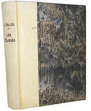 Vallès : Les Blouses. La Famine à Buzançais (1847) - 1919, Ex. num. sur Hollande