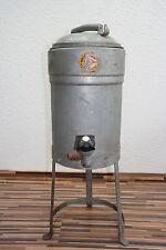 grande antiguo Prensa lino, Centrifugadora con Presión de agua, Metal hoja Spin