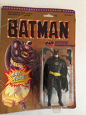 "Vintage 1995 Batman Bat-rope 4"" Action Figure Poseable with Hidden Bat-Rope"