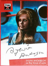The Lost Worlds of Gerry Anderson - SYLVIA ANDERSON (Julie) Autograph Card