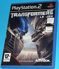 Transformers - Le Jeu - Sony Playstation 2 PS2 - PAL
