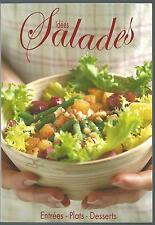 Idees salades. Entrees - Plats - Desserts.Maximo SV3
