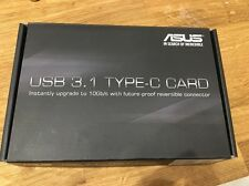 Asus usb 3.1 pci-e carte d'extension (1x type-c port)